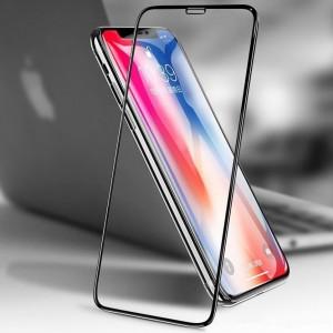 """6D защитное стекло с полной проклейкой для Apple iPhone XR (6.1"""") на весь экран"""