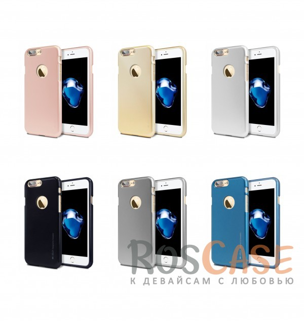 "Фото Mercury iJelly Metal | Силиконовый чехол для Apple iPhone 7 plus / 8 plus (5.5"")"