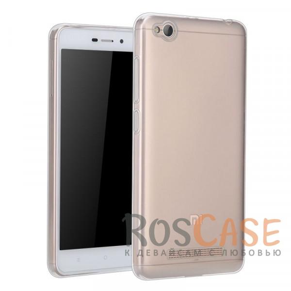 Ультратонкий силиконовый чехол Ultrathin 0,33mm для Xiaomi Redmi 4aОписание:разработан специально для&amp;nbsp;Xiaomi Redmi 4aультратонкий дизайн;материал - TPU;тип - накладка.<br><br>Тип: Чехол<br>Бренд: Epik<br>Материал: TPU