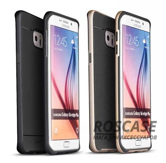 Чехол iPaky TPU+PC для Samsung Galaxy S6 Edge PlusОписание:производитель: iPaky;совместимость: Samsung Galaxy S6 Edge Plus;материал: термополиуретан, поликарбонат;форм-фактор: накладка.Особенности:эргономичный;легко очищается;износостойкий;легко устанавливается и снимается;ультратонкий;стильный дизайн.<br><br>Тип: Чехол<br>Бренд: Epik<br>Материал: TPU