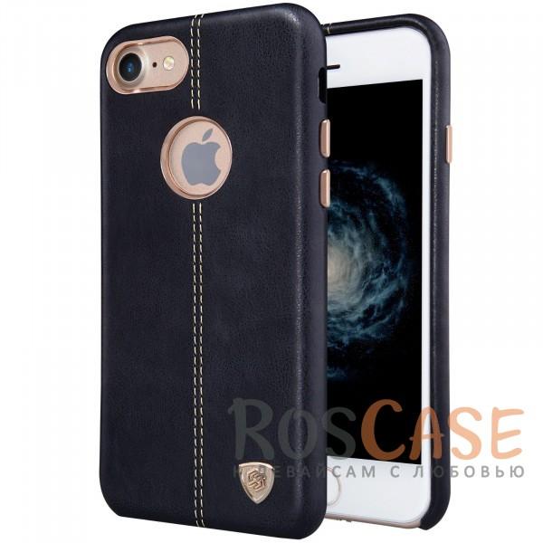 Ультратонкая накладка из натуральной кожи Nillkin Englon с декоративной строчкой для Apple iPhone 7 (4.7) (Черный)Описание:произведено брендом&amp;nbsp;Nillkin;совместимость - Apple iPhone 7 (4.7);материал: натуральная кожа, микрофибра;тип: накладка.&amp;nbsp;Особенности:ультратонкий дизайн;фактурная поверхность;декоративная строчка;не скользит в руках;защищает заднюю панель и боковые грани.<br><br>Тип: Чехол<br>Бренд: Nillkin<br>Материал: Натуральная кожа