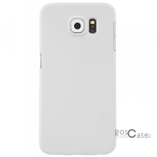 Чехол Nillkin Matte для Samsung Galaxy S6 G920F/G920D Duos (+ пленка) (Белый)Описание:производитель - бренд&amp;nbsp;Nillkin;материал - поликарбонат;совместимость - Samsung Galaxy S6 G920F/G920D Duos;тип - накладка.&amp;nbsp;Особенности:матовый;прочный;тонкий дизайн;не скользит в руках;не выцветает;пленка в комплекте.<br><br>Тип: Чехол<br>Бренд: Nillkin<br>Материал: Поликарбонат