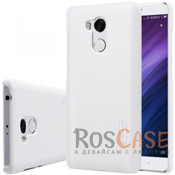 Чехол Nillkin Matte для Xiaomi Redmi 4 Pro / Redmi 4 Prime (+ пленка) (Белый)<br><br>Тип: Чехол<br>Бренд: Nillkin<br>Материал: Поликарбонат