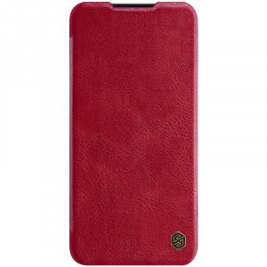 Кожаный чехол (книжка) Nillkin Qin Series  для Xiaomi Mi A3 / CC9e