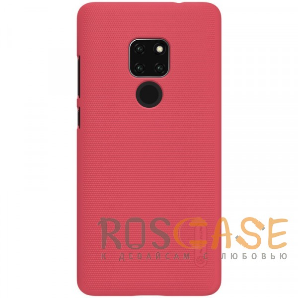 Фото Красный Nillkin Super Frosted Shield | Матовый чехол для Huawei Mate 20