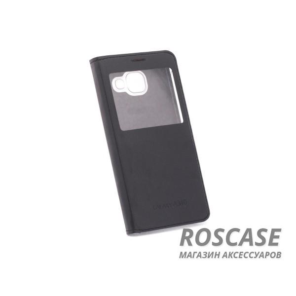 Чехол (книжка) с PC креплением для Samsung A310F Galaxy A3 (2016) (Черный)Описание:разработан компанией&amp;nbsp;Epik;идеально совместим с&amp;nbsp;Samsung A310F Galaxy A3 (2016);материалы: синтетическая кожа, пластик;тип: чехол-книжка.&amp;nbsp;Особенности:имеются все функциональные вырезы;не скользит в руках;окошко в обложке;защита от ударов и падений;превращается в подставку.<br><br>Тип: Чехол<br>Бренд: Epik<br>Материал: Искусственная кожа