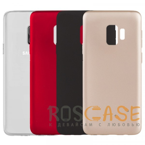 Фото J-Case THIN | Гибкий силиконовый чехол для Samsung Galaxy S9