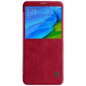 Nillkin Qin натур. кожа | Чехол-книжка для Xiaomi Redmi Note 5 (AI Dual Camera)