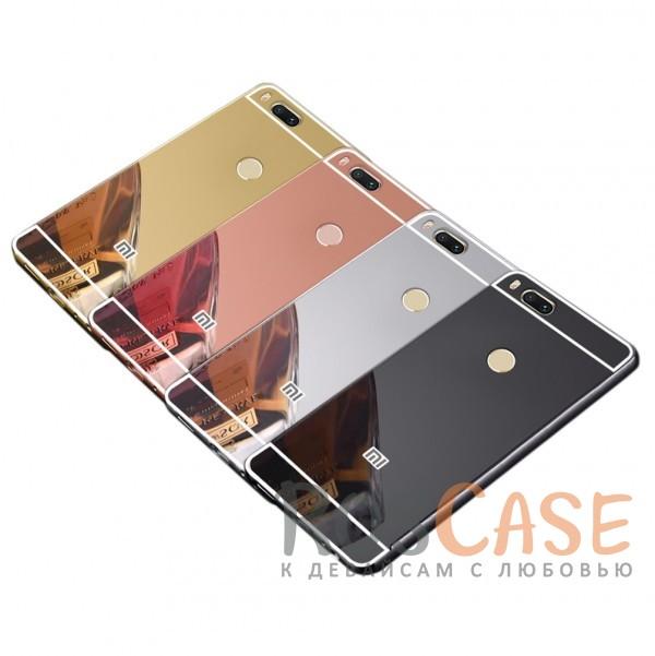 Защитный металлический бампер с зеркальной вставкой для Xiaomi Mi 5X / Mi A1Описание:разработан для Xiaomi Mi 5X / Mi A1;материалы - металл, акрил;тип - бампер с задней панелью;зеркальная поверхность;металлический бампер;защита от царапин и ударов.<br><br>Тип: Чехол<br>Бренд: Epik<br>Материал: Металл