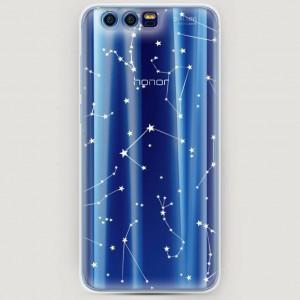 RosCase | Силиконовый чехол Созвездия на Huawei Honor 9