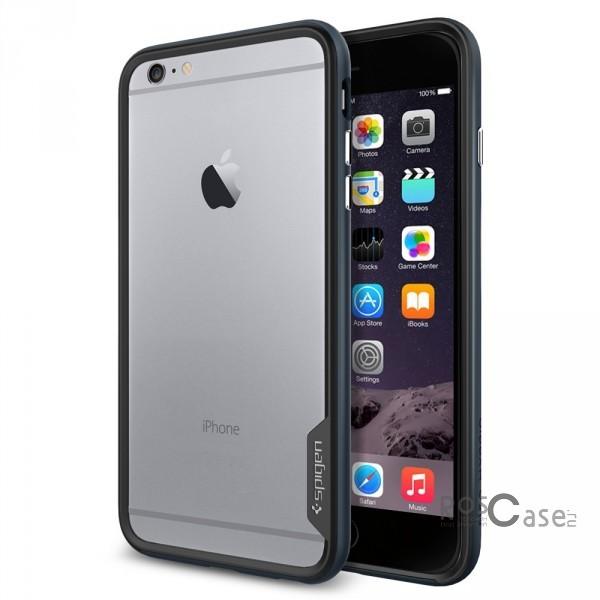 Бампер SGP Neo Hybrid EX Series для Apple iPhone 6/6s plus (5.5) (+пленка) (Серый / Metal slate / SGP11056)Описание:бренд:&amp;nbsp;SGP;совместим с Apple iPhone 6/6s plus (5.5);материалы: термополиуретан, поликарбонат;тип: бампер.&amp;nbsp;Особенности:в наличии имеются все функциональные вырезы;надежная система фиксации;большой диапазон оттенков;пленка в комплекте;тонкое исполнение.<br><br>Тип: Бампер<br>Бренд: SGP
