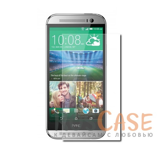 Защитное стекло CaseGuru Tempered Glass 0.33mm (2.5D) для HTC New One 2 / M8 (Прозрачное)<br><br>Тип: Защитное стекло<br>Бренд: CaseGuru