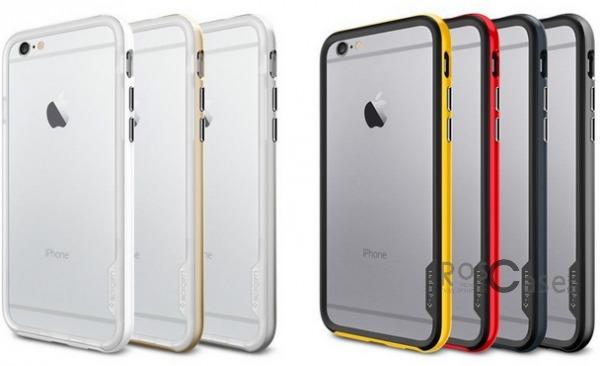 Бампер SGP Neo Hybrid EX Series для Apple iPhone 6/6s plus (5.5) (+пленка)Описание:бренд:&amp;nbsp;SGP;совместим с Apple iPhone 6/6s plus (5.5);материалы: термополиуретан, поликарбонат;тип: бампер.&amp;nbsp;Особенности:в наличии имеются все функциональные вырезы;надежная система фиксации;большой диапазон оттенков;пленка в комплекте;тонкое исполнение.<br><br>Тип: Бампер<br>Бренд: SGP