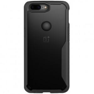 iPaky Hard Original | Прозрачный чехол для OnePlus 5T с защитными бортиками