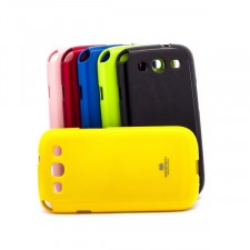 фото TPU чехол Mercury Jelly Color series для Samsung i9300 Galaxy S3