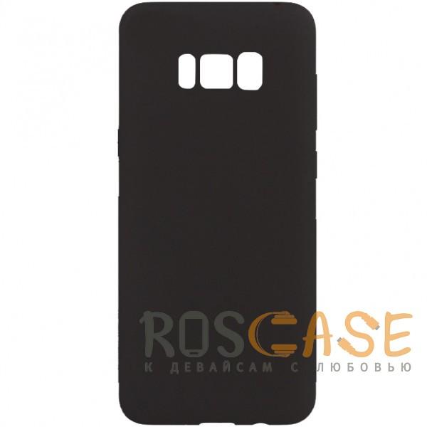 Фото Черный J-Case THIN | Гибкий силиконовый чехол для Samsung G955 Galaxy S8 Plus