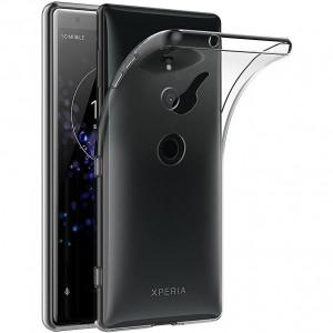 Прозрачный силиконовый чехол для Sony Xperia XZ2
