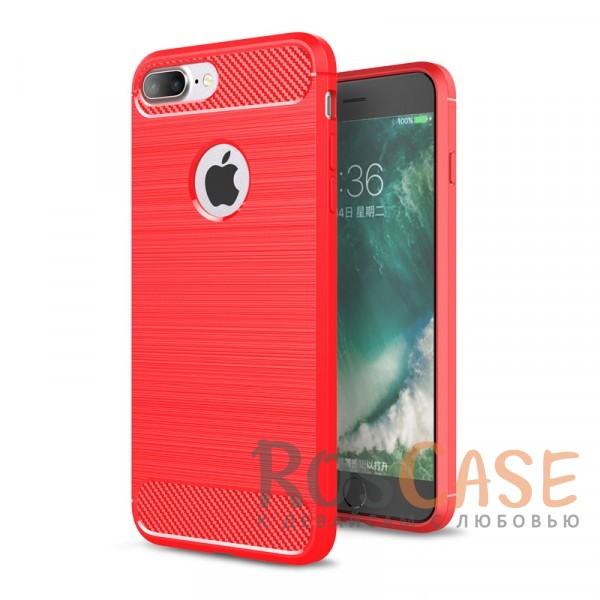"""Фото Красный Ударопрочный матовый чехол c защитой от перегрева для Apple iPhone 7 plus / 8 plus (5.5"""")"""