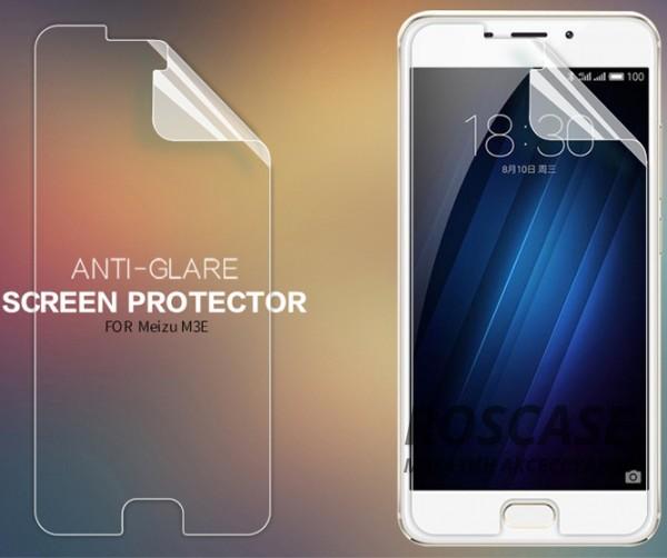 Защитная пленка Nillkin для Meizu M3e (Матовая)Описание:бренд:&amp;nbsp;Nillkin;разработана для Meizu M3e;материал: полимер;тип: защитная пленка.&amp;nbsp;Особенности:учитывает все особенности экрана;защищает от царапин и потертостей;функция анти-блик;обеспечивает приватность информации на дисплее;защищает от ультрафиолетового излучения;ультратонкая.<br><br>Тип: Защитная пленка<br>Бренд: Nillkin