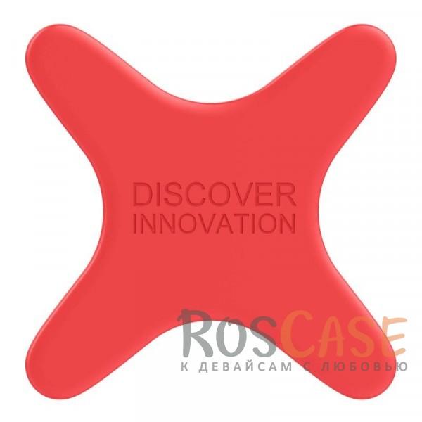 Пластина Nillkin X Magnetic Plate для совместимости смартфона с магнитным автодержателем (Красный)Описание:тип: магнитная пластина;материал: силикон;совместимость: магнитные автодержатели, беспроводная магнитная зарядка;покрытие анти-отпечатки;приятна на ощупь;четыре магнита по краям пластины;уникальный дизайн.<br><br>Тип: Автодержатель<br>Бренд: Nillkin