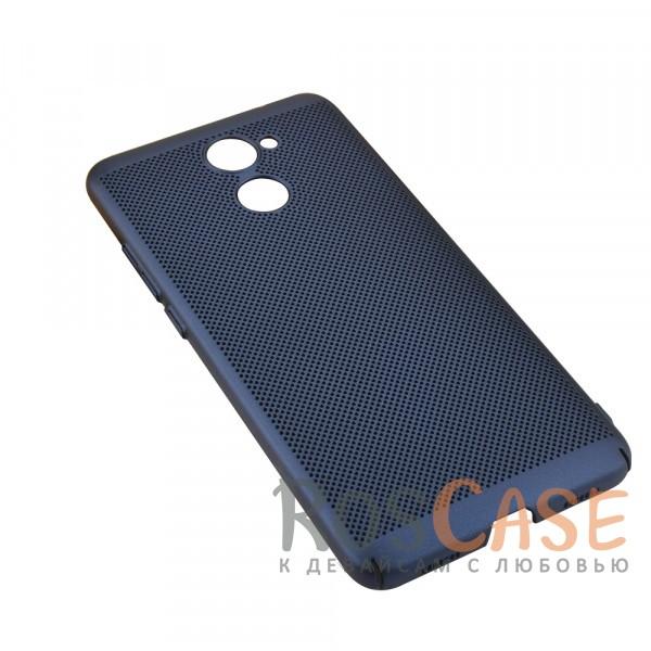 Пластиковый перфорированный чехол-накладка MOFI Air Series с защитой от перегрева для Huawei Y7 Prime (Синий)Описание:бренд - Mofi;материал - пластик;совместимость - Huawei Y7 Prime;перфорированная поверхность;защита от перегрева;предусмотрены все функциональные вырезы;не скользит в руках;формат - накладка.<br><br>Тип: Чехол<br>Бренд: Mofi<br>Материал: Пластик