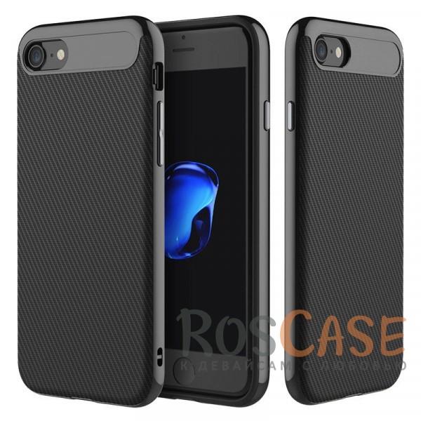 TPU+PC чехол Rock Vision Series для Apple iPhone 7 (4.7) (Черный / Jet Black)Описание:фирма:&amp;nbsp;Rock;совместимость: Apple iPhone 7 (4.7);материал: термопластичный полиуретан и поликарбонат;вид: накладка.&amp;nbsp;<br><br>Тип: Чехол<br>Бренд: ROCK<br>Материал: TPU