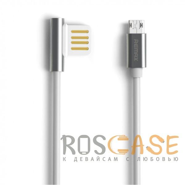 Фото Remax Emperor | Дата кабель USB to MicroUSB с угловым коннектором (1m)