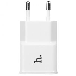 HOCO UH202 | Компактное сетевое зарядное устройство с двумя разъемами USB (2,1А) для Samsung Galaxy S6 Edge (G925F)
