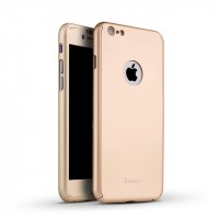 "iPaky 360° | Комплект чехол + стекло для Apple iPhone 6/6s (4.7"") (полная защита корпуса и экрана)"