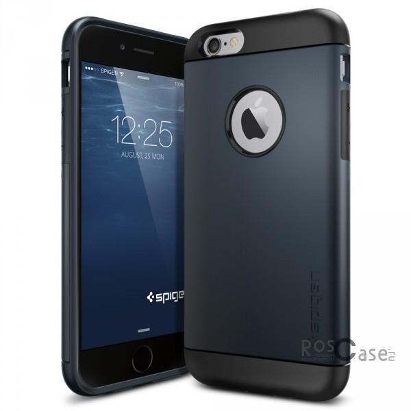 Пластиковая накладка SGP Slim Armor Series для Apple iPhone 6/6s (4.7) (Серый / Metal slate / SGP11169)Описание:бренд:&amp;nbsp;SGP;совместим с Apple iPhone&amp;nbsp;6/6s (4.7);используемые материалы: термопластичный полиуретан, поликарбонат;форма чехла: накладка.&amp;nbsp;Особенности:соблюдено полное количество прорезей под функциональные объекты;тонкое исполнение;амортизация возникающей вибрации от падения;на ней не видны отпечатки пальцев;идеально прилегает.<br><br>Тип: Чехол<br>Бренд: SGP<br>Материал: Пластик