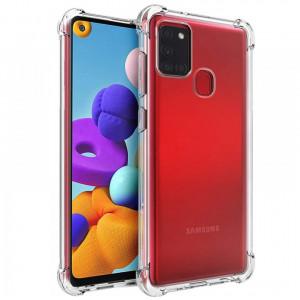 King Kong | Противоударный прозрачный чехол для Samsung Galaxy A21s с защитой углов