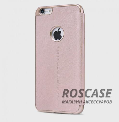 Кожаный чехол (книжка) Nillkin Sparkle Series для Apple iPhone 6/6s (4.7)  (Розовый / золотой)Описание:разработчик и производитель Nillkin;изготовлен из синтетической кожи и поликарбоната;фактурная поверхность;тип конструкции: чехол-книжка;совместим с Apple iPhone 6/6s (4.7).&amp;nbsp;Особенности:внутренняя отделка из микрофибры;ультратонкий;не скользит в руках;яркая, насыщенная палитра цветов.<br><br>Тип: Чехол<br>Бренд: Nillkin<br>Материал: Искусственная кожа