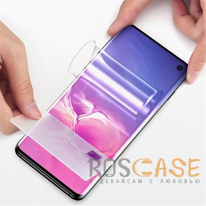 Фотография Гидрогелевая защитная плёнка Rock для Samsung Galaxy S10