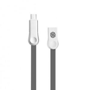 "Nillkin Plus 3 | Плоский кабель с разъемами MicroUSB и Type-C для Apple iPhone 5/5S (4.0"")"