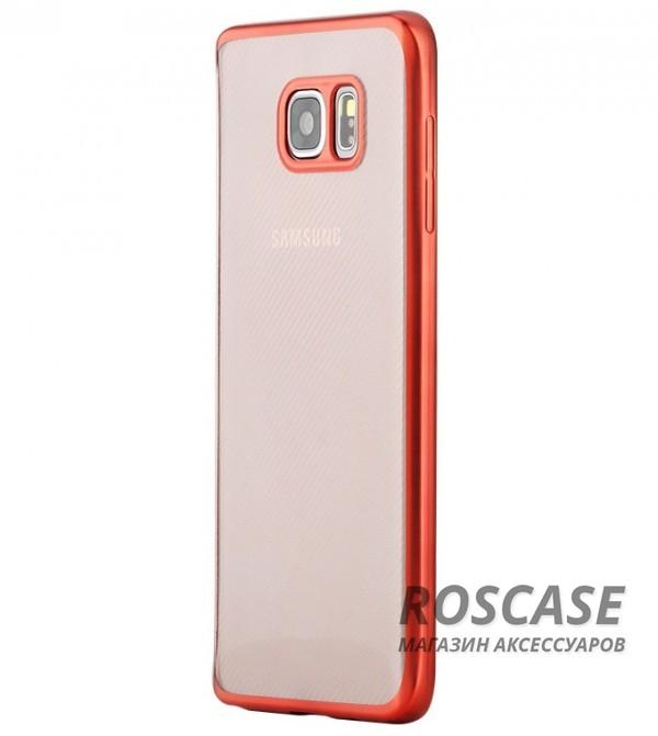 TPU чехол ROCK Ultrathin Flame Series для Samsung Galaxy Note 5 (Красный / Red)Описание:изготовлен компанией&amp;nbsp;Rock;совместим с Samsung Galaxy Note 5;материал  -  термополиуретан;тип  -  накладка.&amp;nbsp;Особенности:ультратонкий;в наличии все функциональные вырезы;фактурная поверхность;не скользит в руках;цветная окантовка;защита от царапин и ударов.<br><br>Тип: Чехол<br>Бренд: ROCK<br>Материал: TPU