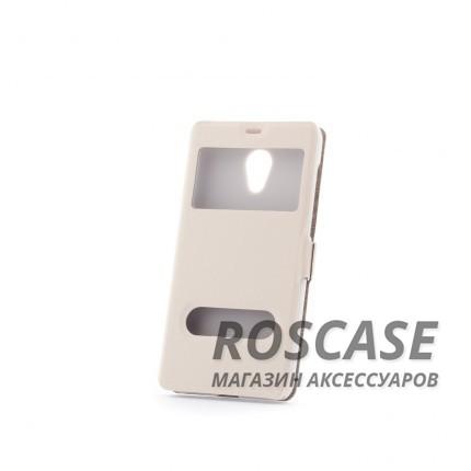 Чехол (книжка) с PC креплением для Meizu M2 / M2 mini (Белый)Описание:разработан компанией&amp;nbsp;Epik;спроектирован для Meizu M2 / M2 mini;материалы: синтетическая кожа, поликарбонат;тип: чехол-книжка.&amp;nbsp;Особенности:имеются все функциональные вырезы;не скользит в руках;магнитная застежка;окошки в обложке;защита от ударов и падений;превращается в подставку.<br><br>Тип: Чехол<br>Бренд: Epik<br>Материал: Искусственная кожа