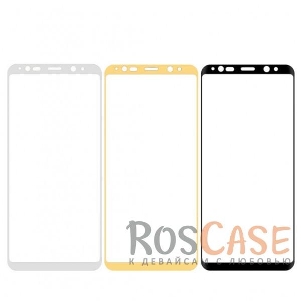 Тонкое олеофобное защитное 3D стекло для Samsung Galaxy Note 8<br><br>Тип: Защитное стекло<br>Бренд: Mocolo