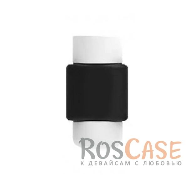 Цветной протектор с защитой от перелома для кабеля (Черный)Описание:тип - протектор для кабеля;материал - пластик;защита от переломов;компактные размеры;состоит из двух частей.<br><br>Тип: Общие аксессуары<br>Бренд: Epik