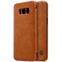 Nillkin Qin натур. кожа | Чехол-книжка для Samsung G950 Galaxy S8