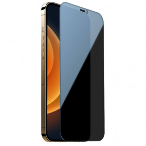 Nillkin Privacy | Защитное закаленное стекло Антишпион для iPhone 12 Pro Max