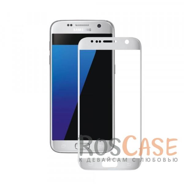 Защитное стекло 3D CaseGuru Tempered Glass для Samsung G930F Galaxy S7 (Белое)<br><br>Тип: Защитное стекло<br>Бренд: CaseGuru
