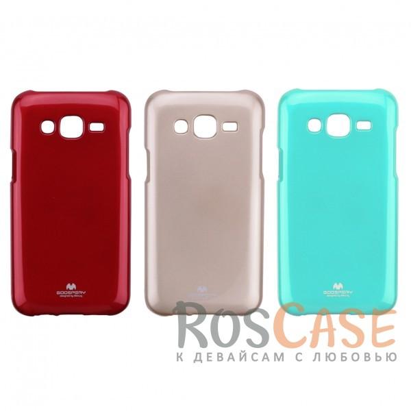 Яркий гибкий силиконовый чехол Mercury Color Pearl Jelly для Samsung J500H Galaxy J5Описание:производитель  -  Mercury;совместим с Samsung J500H Galaxy J5;форм-фактор  -  накладка;материал - термополиуретан.Особенности:отличная защита гаджета от повреждений;поверхность  -  глянцевая;функционал  -  доступ к кнопкам, портам, проемы под камеру и динамик;ультратонкая.<br><br>Тип: Чехол<br>Бренд: Mercury<br>Материал: TPU
