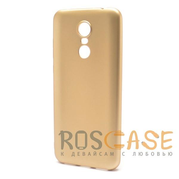 Фото Золотой J-Case THIN   Гибкий силиконовый чехол для Xiaomi Redmi 5