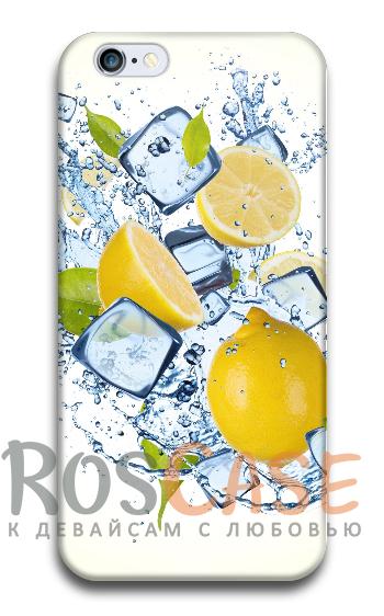 """Фото Лимонный фреш Пластиковый чехол RosCase """"ЛЕТО!"""" для iPhone 6/6s (4.7"""")"""