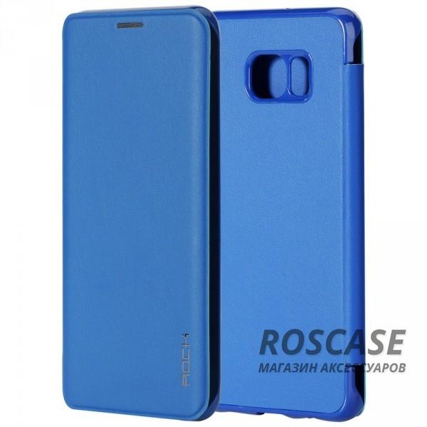 Чехол (книжка) Rock Touch series для Samsung Galaxy S6 Edge Plus (Синий / Blue)Описание:производитель -&amp;nbsp;ROCK;совместим с Samsung Galaxy S6 Edge Plus;материал: искусственная кожа;тип: чехол-книжка.Особенности:все функциональные вырезы в наличии;на чехле не заметны отпечатки пальцев;защита от механических повреждений;матовый;не скользит в руках.<br><br>Тип: Чехол<br>Бренд: ROCK<br>Материал: Искусственная кожа