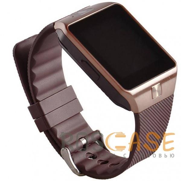 Фото Коричневый Умные часы Smart Watch UWatch DZ09