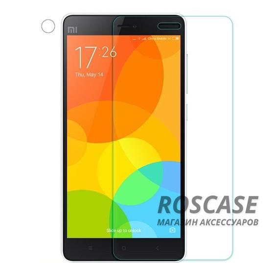 Защитное стекло Nillkin Anti-Explosion Glass Screen (H) для Xiaomi Mi 4i / Mi 4cОписание:компания&amp;nbsp;Nillkin;создано для Xiaomi Mi 4i / Mi 4c;материал: закаленное стекло;тип: защитное стекло.&amp;nbsp;Особенности:повторяет форму экрана;тонкое и прозрачное;покрытие анти-блик;твердость - 9H;толщина - &amp;nbsp;0,3 мм;защита от ударов и царапин;олеофобное покрытие;в комплекте пленка на камеру.<br><br>Тип: Защитное стекло<br>Бренд: Nillkin