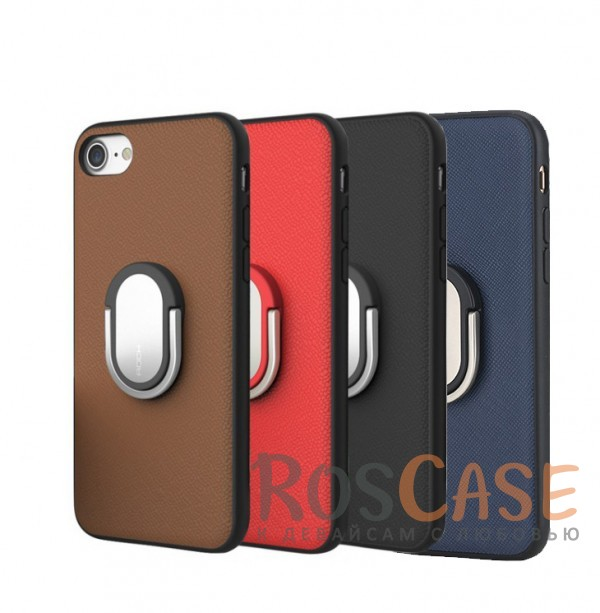 TPU+PC чехол Rock Ring Holder Case M1 Series для Apple iPhone 7 (4.7)Описание:изготовитель: Rock;совместимость: Apple iPhone 7 (4.7);материалы: термополиуретан и поликарбонат;тип: накладка.Особенности:защищает от ударов и царапин;рельефная задняя панель;функция подставки;металлическое кольцо-держатель;в наличии все вырезы.<br><br>Тип: Чехол<br>Бренд: ROCK<br>Материал: TPU