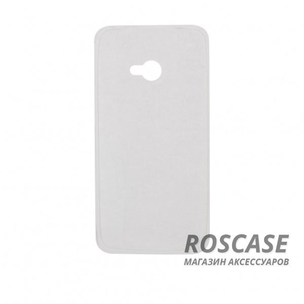 TPU чехол Ultrathin Series 0,33mm для HTC One / M7Описание:бренд:&amp;nbsp;Epik;совместим с HTC One / M7;материал: термополиуретан;тип: накладка.&amp;nbsp;Особенности:ультратонкий дизайн - 0,33 мм;прозрачный;эластичный и гибкий;надежно фиксируется;все функциональные вырезы в наличии.<br><br>Тип: Чехол<br>Бренд: Epik<br>Материал: TPU