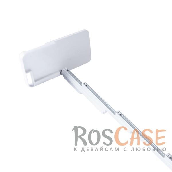 "Фото Белый 2 в 1! Чехол и селфи-палка для Apple iPhone 6 plus (5.5"")  / 6s plus (5.5"") из алюминия и ABS пластика"